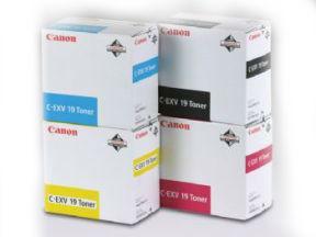 Image of   Canon C-EXV 19 Y 0400B002 gul toner, original