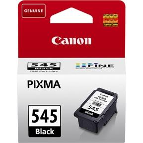 Canon PG 545 BK (8287B001) sort blækpatron, Original 180 sider