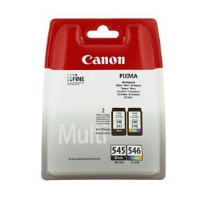 Canon PG 545 BK/ CL 546 C (8287B006) blækpatron, Sampak 2 stk, Original