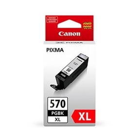 Canon PGI 570 XL BK w/o Sec, sort blækpatron, Original, blistered