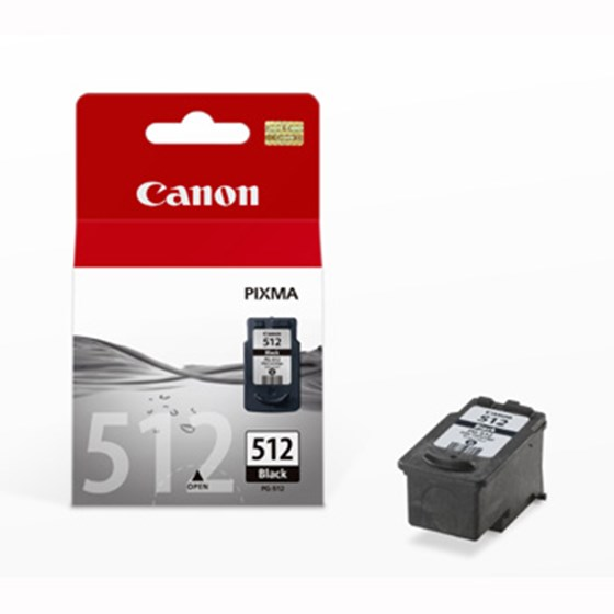 Canon PG-512 BK (2969B001) 15 ml sort Original blækpatron