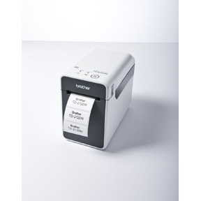 Image of   Brother TD-2120N network barcode label printer