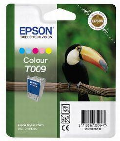 Image of   Epson T009 (C13T00940110), 5 farve Blækpatron Original