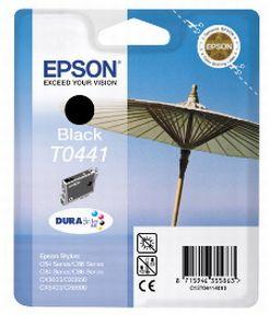 Epson T0441 BK (C13T04414010), Sort Blækpatron Original