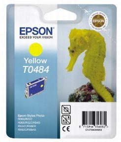 Epson T0484 Y (C13T04844010), Gul Blækpatron, Original