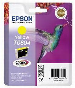 Epson T0804 Y (C13T08044011), Gul Blækpatron, Original