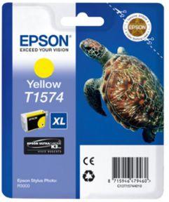 Epson T1574 Y (C13T15744010) Gul Blækpatron, Original 25,95ml
