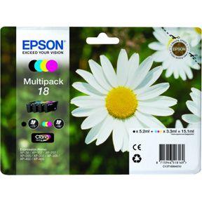 Epson T1806 CMYK Sampak 4 stk, Original