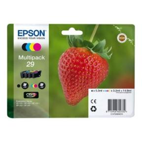 Image of   Epson 29 CMYKSampak 4stk Original 5,95ml