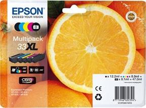 Image of   Epson 33XL CMYK PBK 5stk