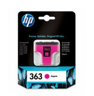 Image of   HP 363 M (C8772EE) magenta blækpatron, Original, 6 ml