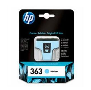 Image of   HP 363 LC (C8774EE) light cyan blækpatron, Original, 6 ml