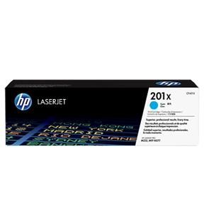 HP CF401X C (HP 201X) Lasertoner, cyan, Original 2300 print