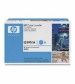 HP Q5951A C (HP 643A) Cyan Lasertoner, Original 10000 print