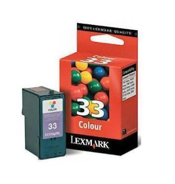 Image of   Lexmark 33 C (18CX033E), farve Blækpatron, Original