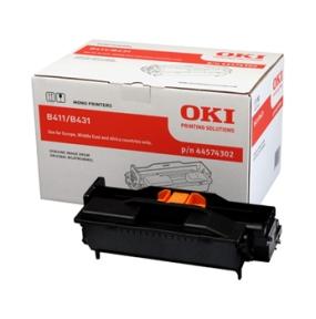 Image of   OKI B411/B431 BK (44574302) Tromle, sort Original 25000 print
