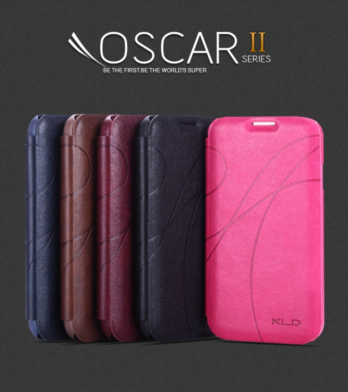 Image of   Kalaideng Oscar II lædercover HTC one Pink