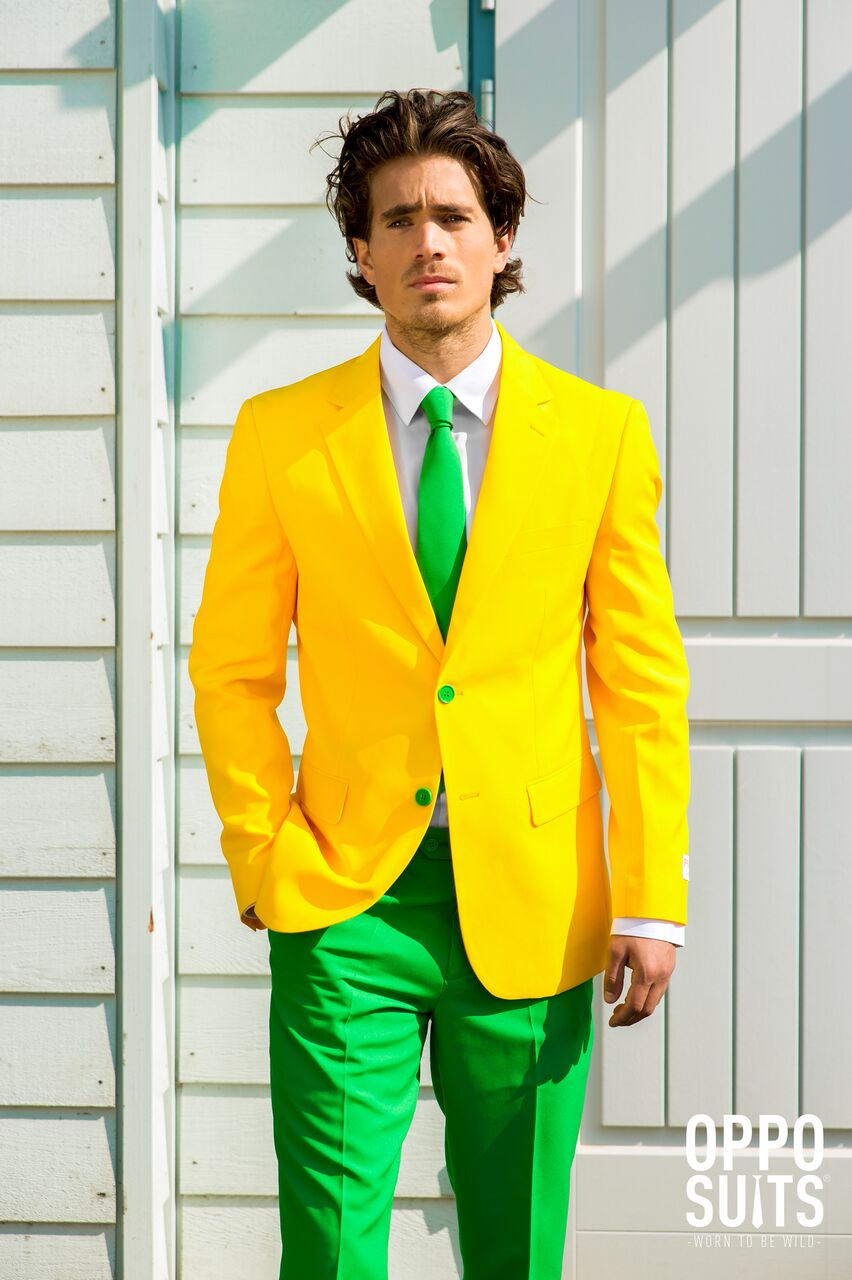 Image of   Opposuit - Green and Gold EU48