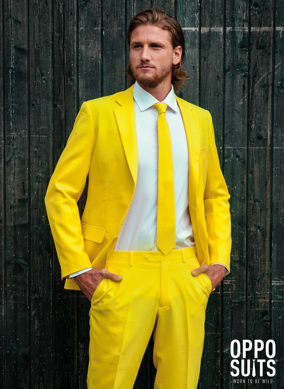 Image of   Opposuit - Yellow Fellow EU46