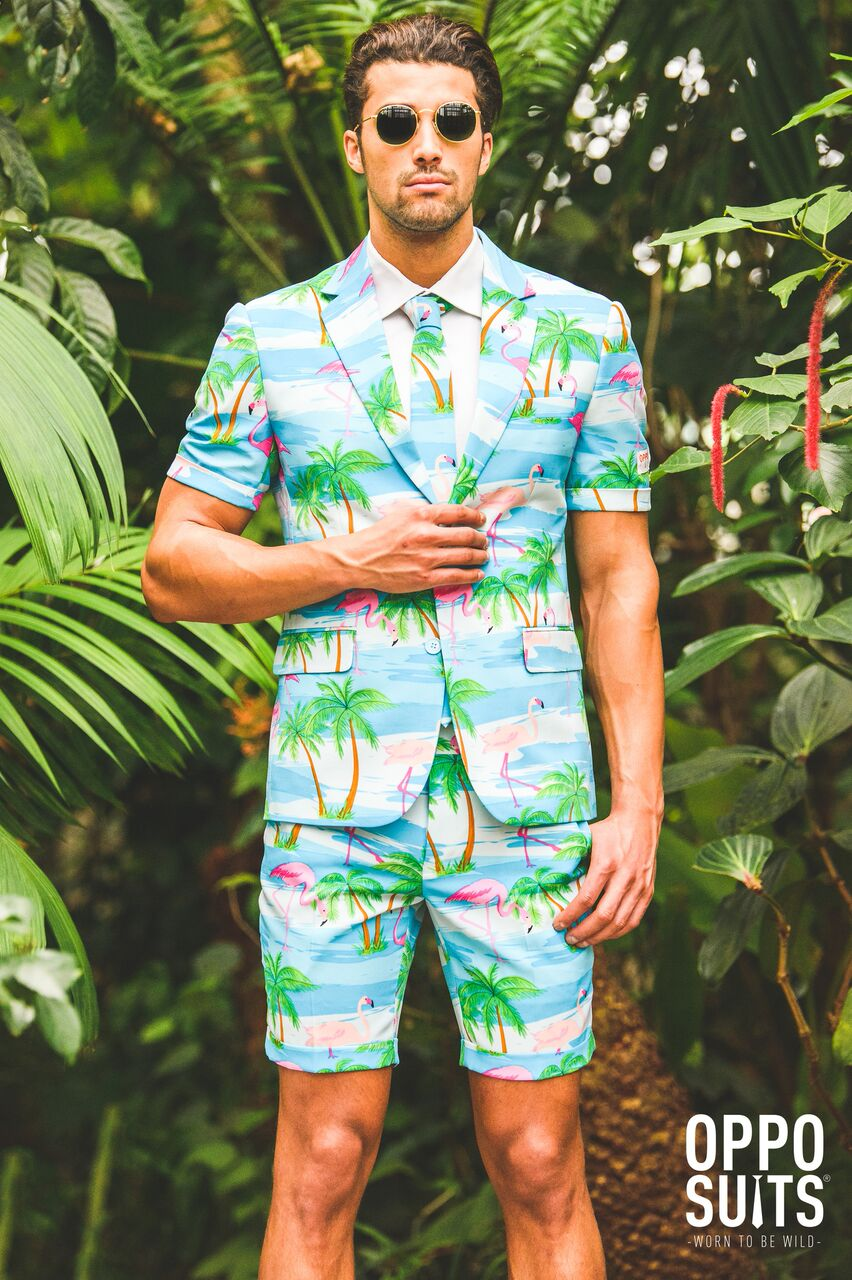 Image of   Opposuit - Summer Flaminguy EU48