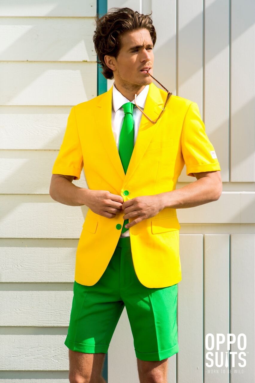Image of   Opposuit - Summer Green and Gold EU50