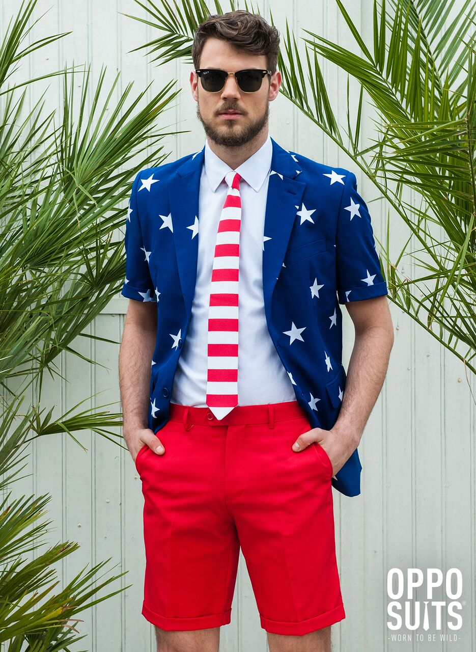 Image of   Opposuit - Summer Stars and Stripes EU50