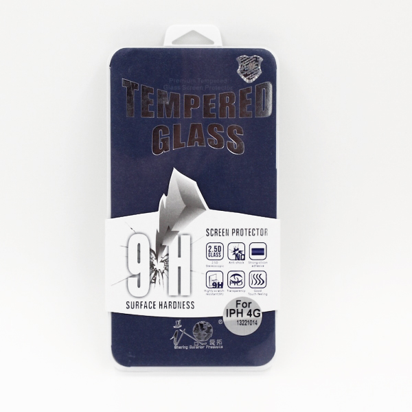 Tempered Glasbeskyttelse til iPhone 4 / 4S