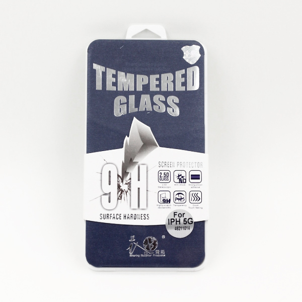 Tempered Glasbeskyttelse til iPhone 5 / 5S