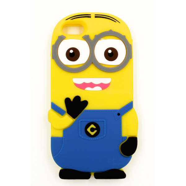 Minions cover i blå, for iPhone and Samsung. Samsung Galaxy S4