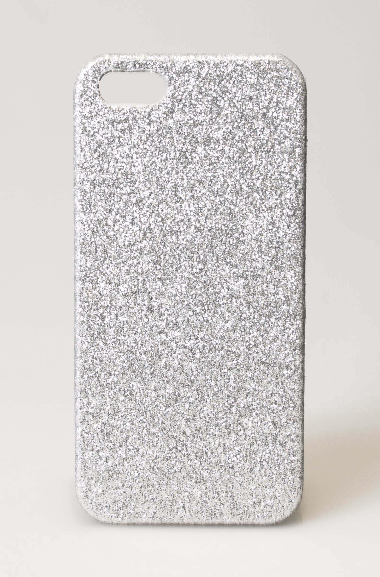 Image of   iPhone hardcase cover i guld el sølv-glimmer iPhone 5/5s Gylden