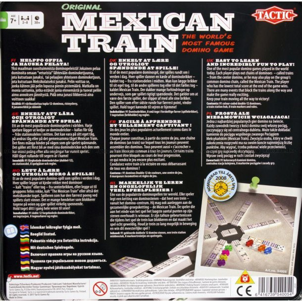 Mexican Train spil