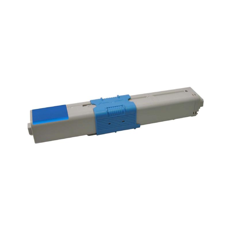 OKI C310 C (44469706) Lasertoner, Cyan, Kompatibel (3000 sider)