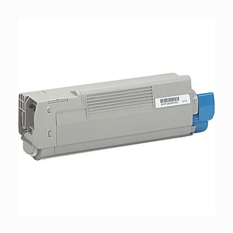 OKI C5500/6100/6150M Lasertoner - Kompatibel - Magenta 6000 sider