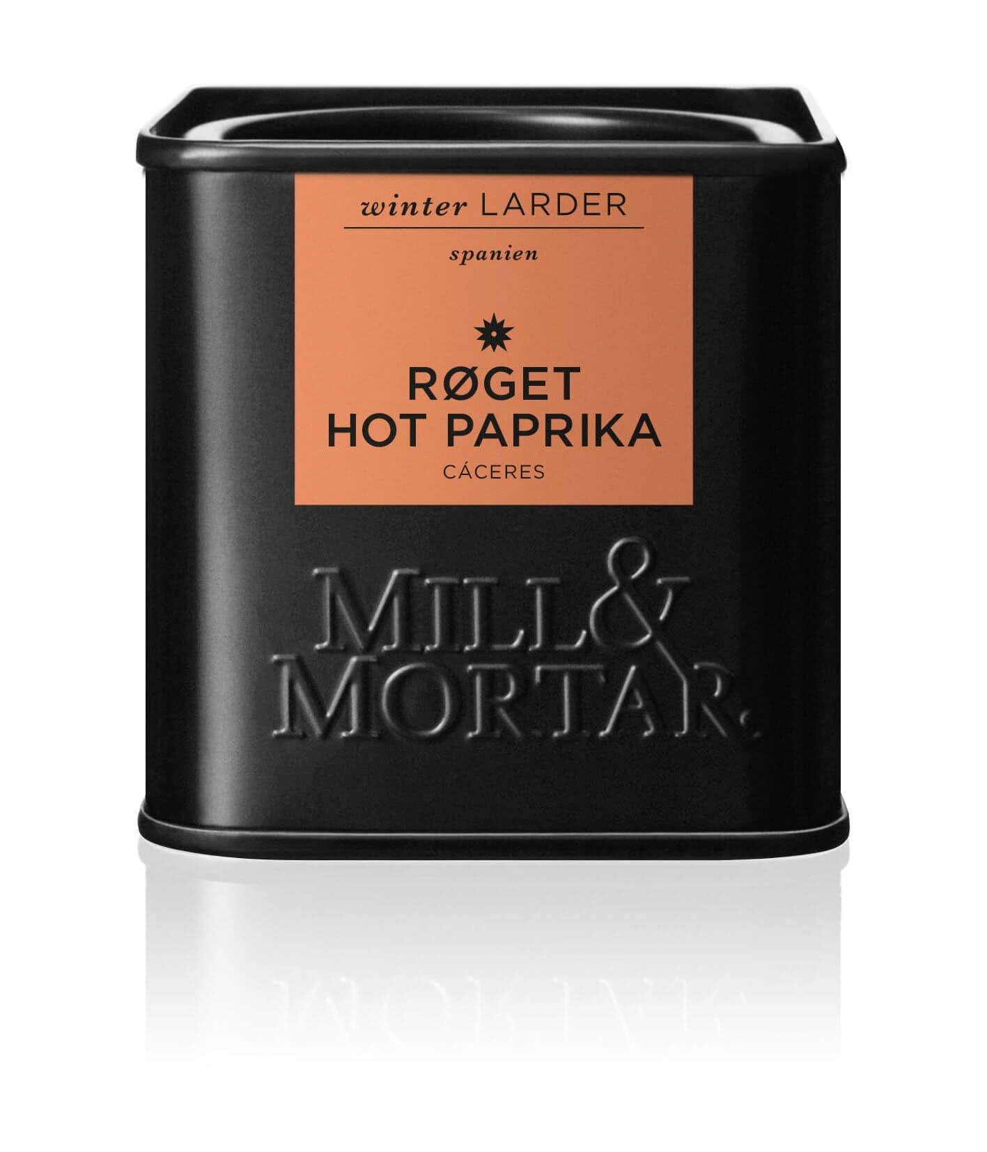 Mill & Mortar Røget paprika HOT 50 g.