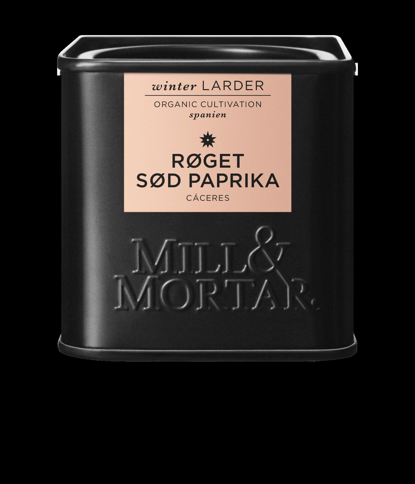 Mill & Mortar Røget paprika Sød ØKO 50 g