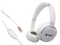 Image of   Sandberg Homen Street Headset Over-Ear, Hvid