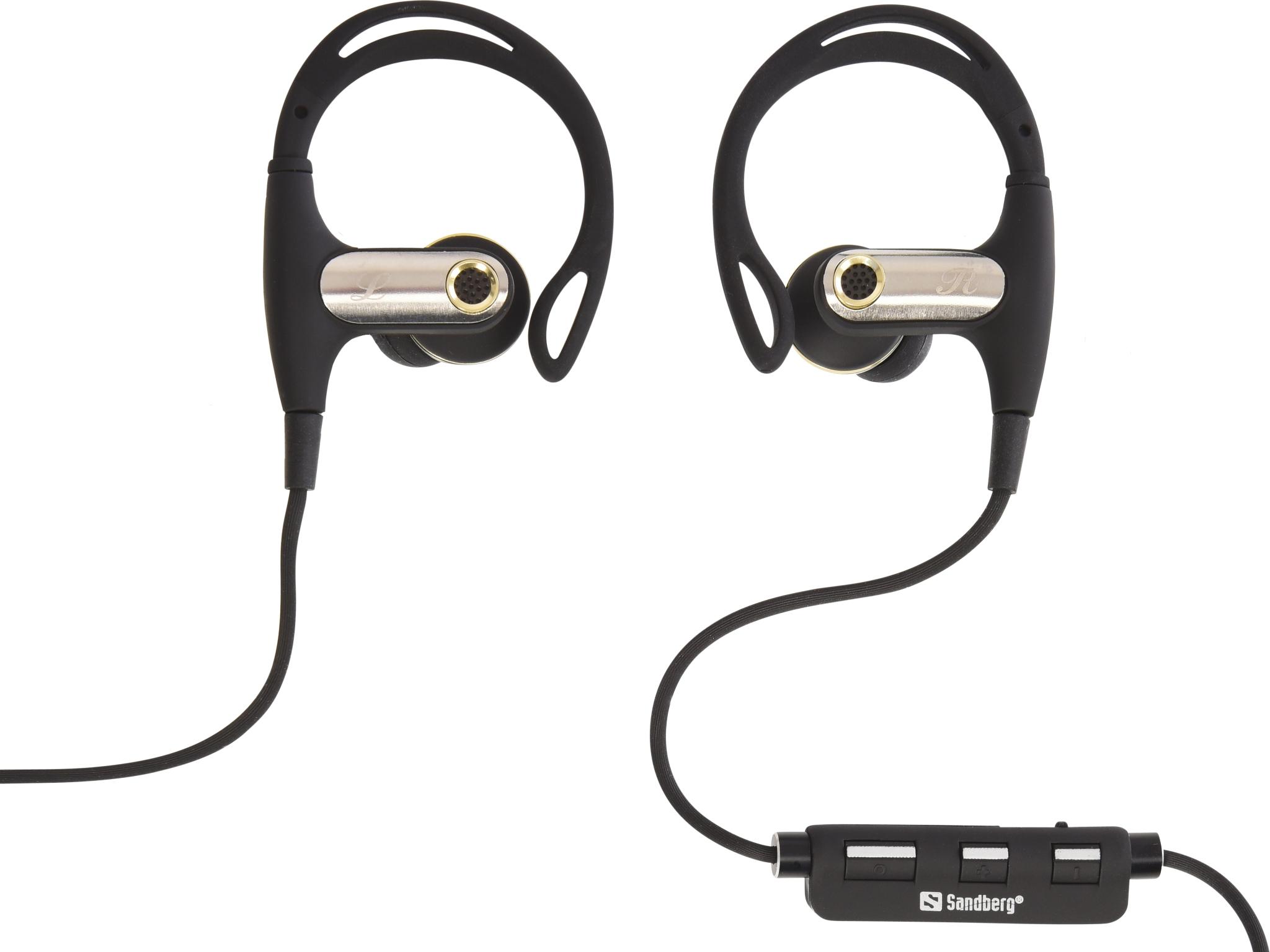 Image of   Sandberg Bluetooth Sports øretelefoner In-Ear, Sort