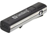 Image of   Sandberg Bluetooth-hovedtelefonadapter, 2in1 Audio Link, sort