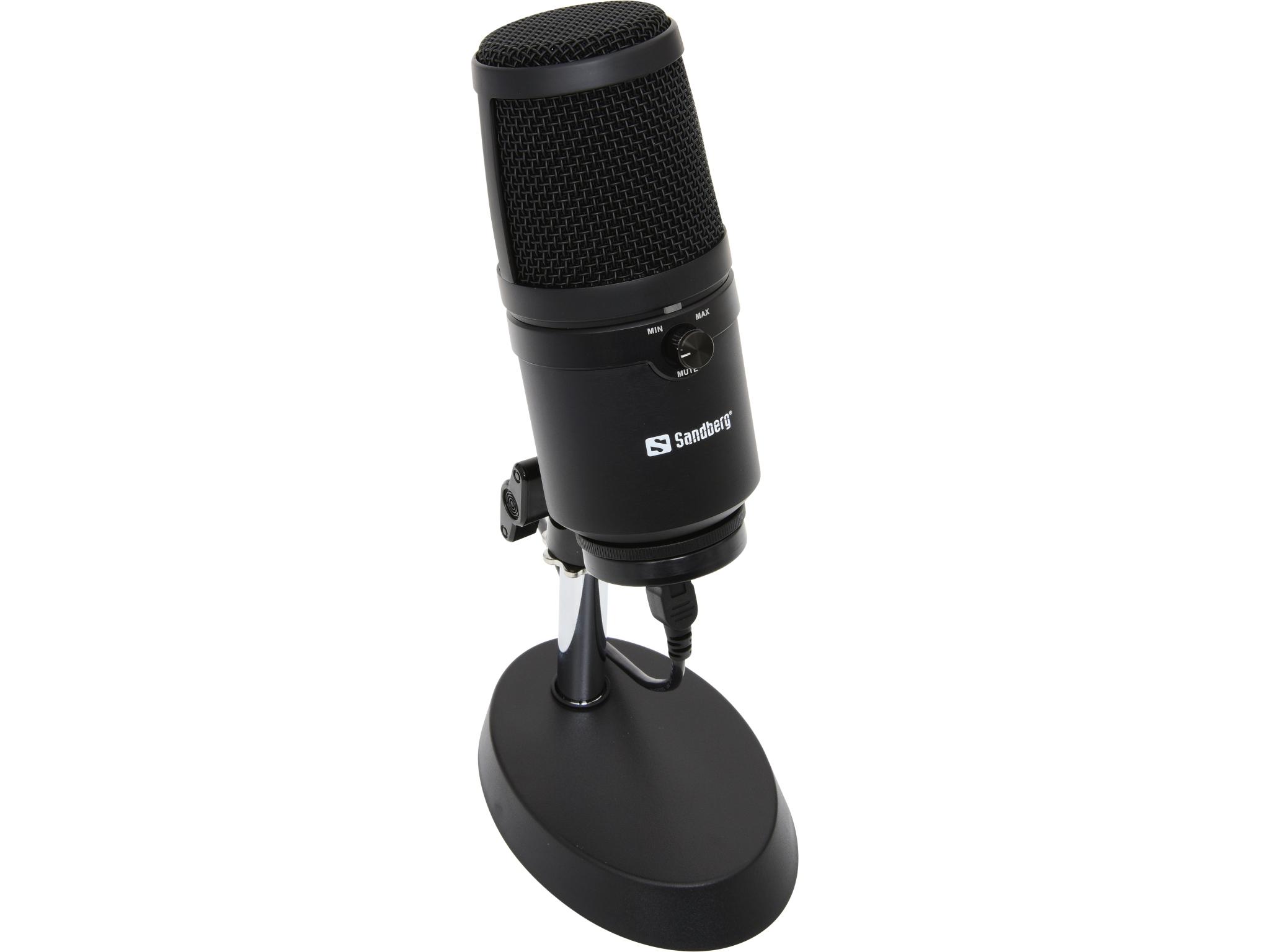 Image of   Sandberg Studio Pro Microfon USB