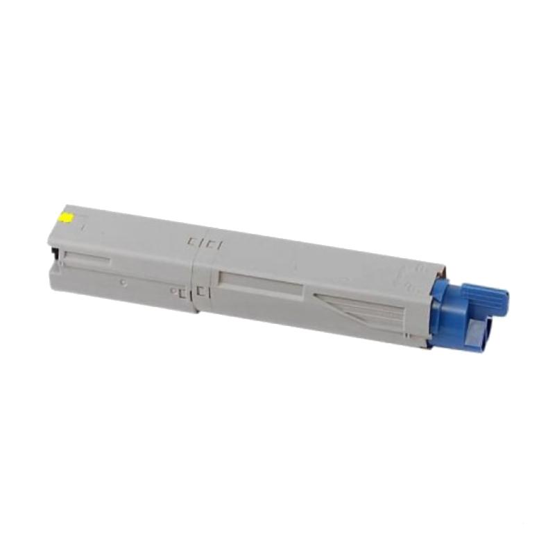 OKI C3300Y Lasertoner, Gul, Kompatibel, 2000 sider