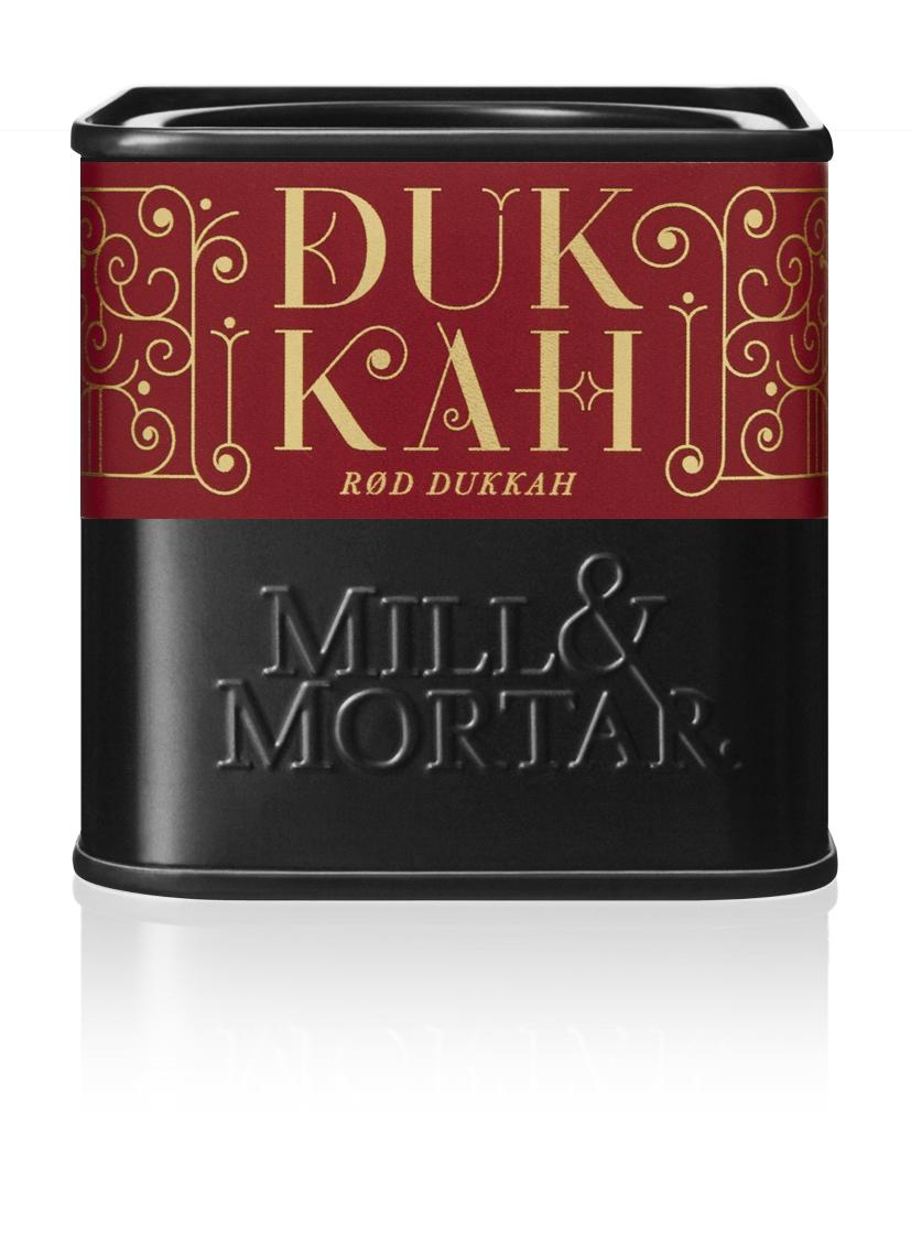 Mill & Mortar Rød Dukkah øko 75 g dåse