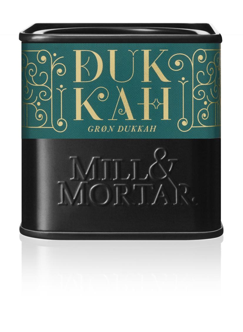 Mill & Mortar Grøn Dukkah øko 75 g dåse