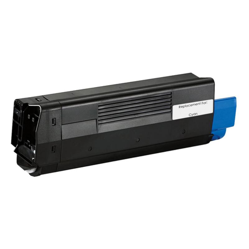 OKI C5100 C Lasertoner, cyan, kompatibel (5000 sider)