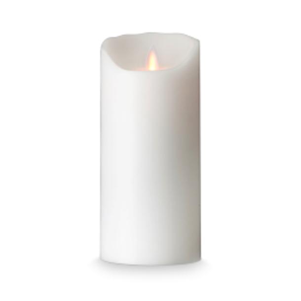 Image of   LED Stearinlys med levende flamme 18 cm