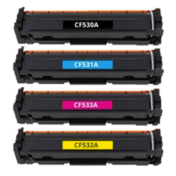 HP 205A combo pack 4 stk lasertoner BK/C/M/Y 3800 sider