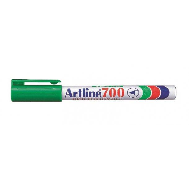 Artline Marker 700 Permanent 0,7 grön, 12 st
