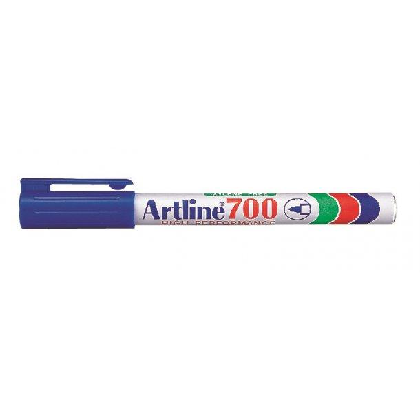 Artline Marker 700 Permanent 0,7 blå, 12 st