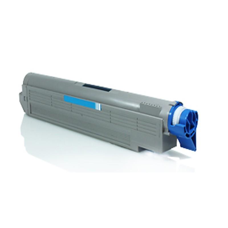 OKI C5650/C5750C Lasertoner, Cyan, Kompatibel, 2000 sider