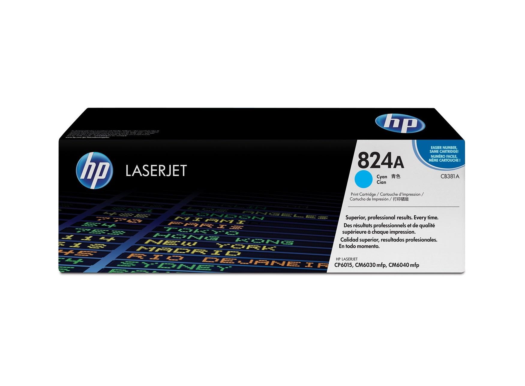 HP 824A C Original Toner (21000 sidor)