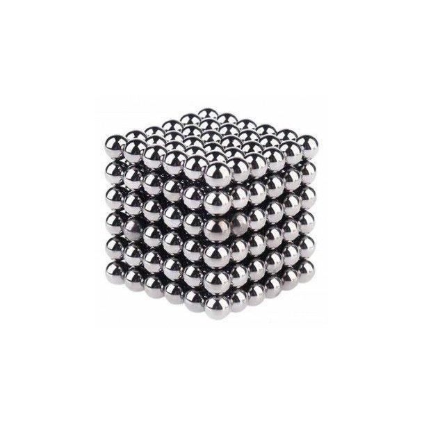 Neocube (216 balls, 5 mm) Sølv